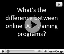 Online DOT training