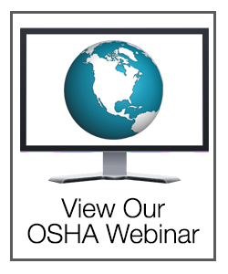 View our OSHA Inspection Webinar