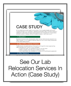 See Our Lab Relocation Services in Action (Case study)