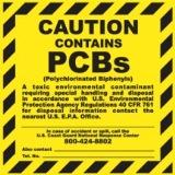 contains PCBs polychlorinated biphenyls