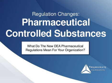Pharmaceutical controlled substances slide