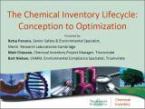 Chemical Inventory Lifecycle comp