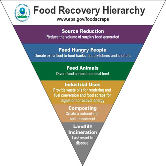 Food recovery graphic