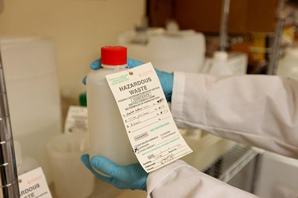 hazard waste hospital expertise