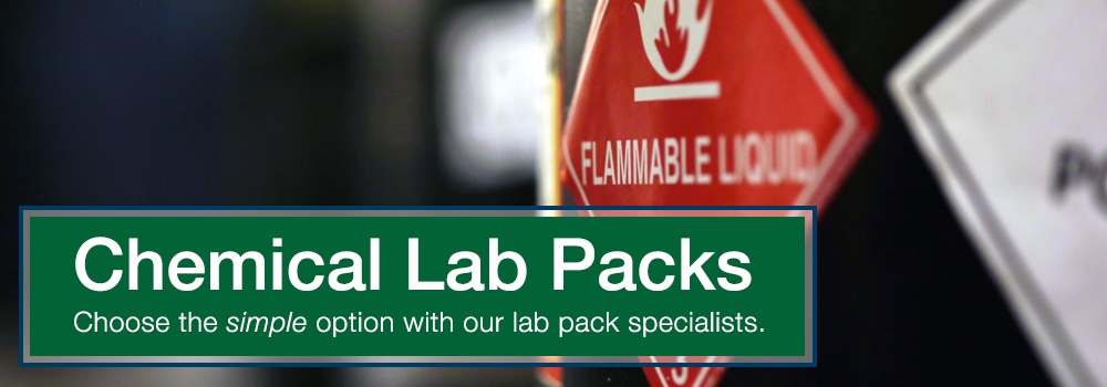 Chemical lab packs: choose the simple option with our lab pack specialists