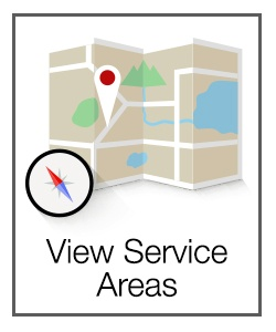 Areas We Service: Our geography
