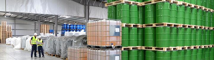 Hazardous chemical storage