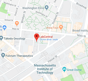 LabCentral Map