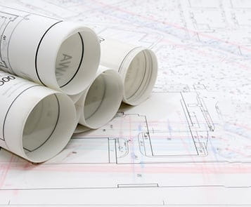 EHS permits close up rolled up and flat