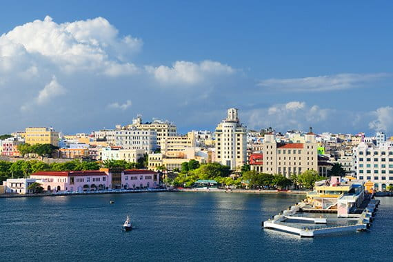San Juan Puerto Rico cityscape