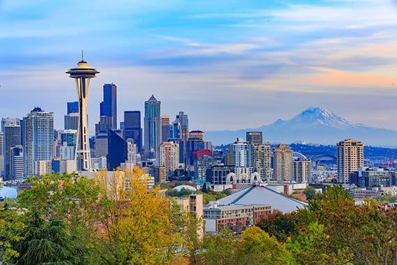Seattle Washington cityscape