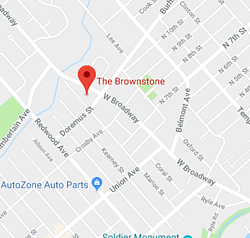 The Brownstone - Map