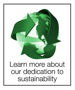 Learn more about our dedication to sustainability