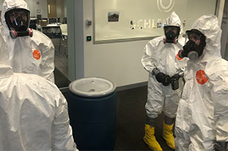 Proper PPE Equipment for Decontamination