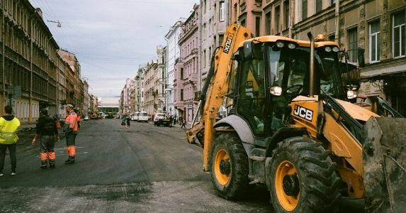 construction on street