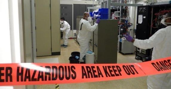 lab decontamination