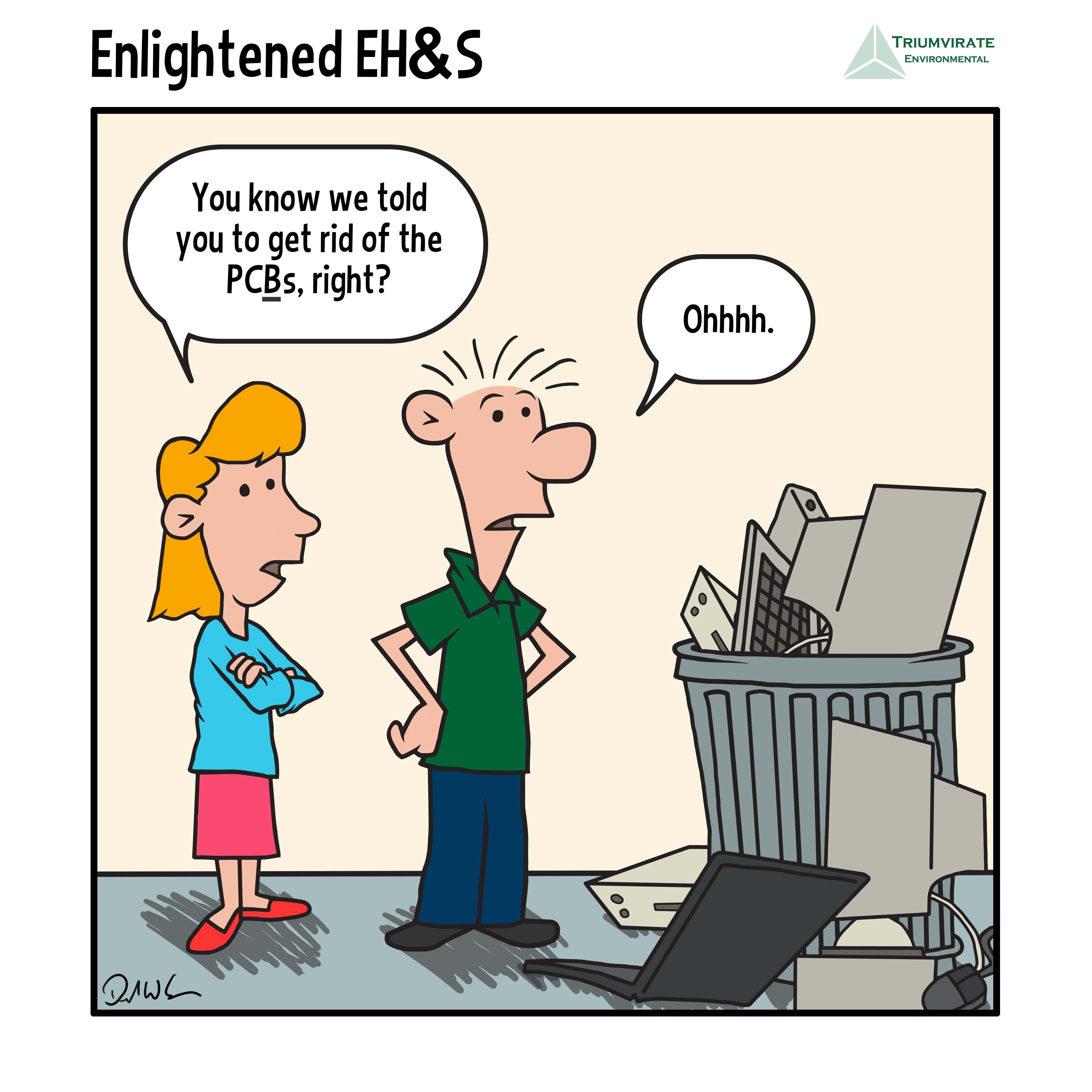 PCB Remediation Comic