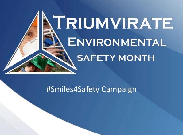 Triumvirate Environmental Safety Month