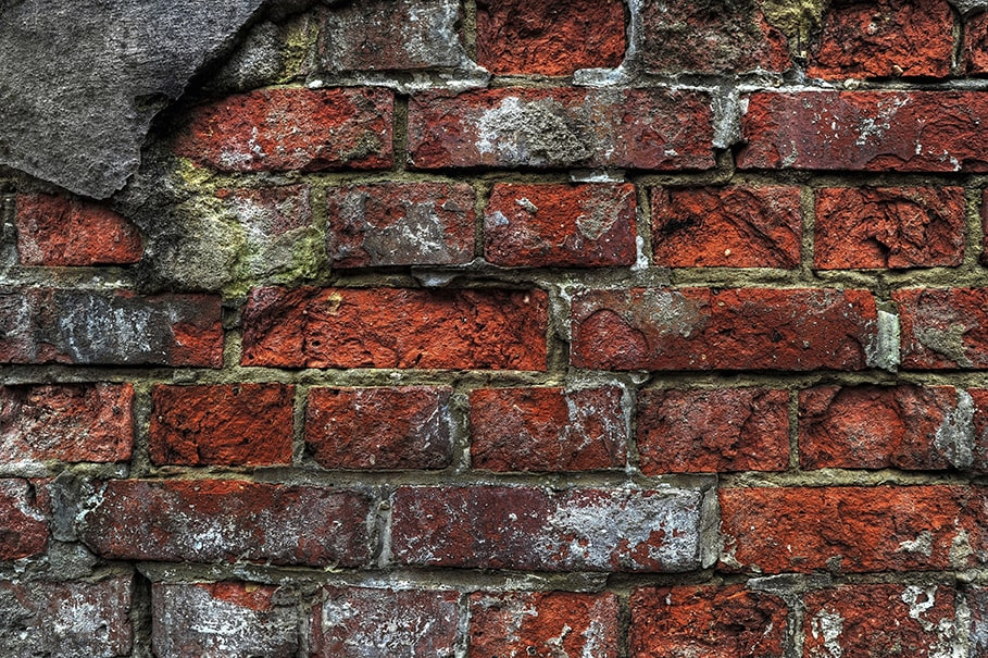 PCB Contaminated Brick Wall