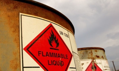 flammable liquid disposal