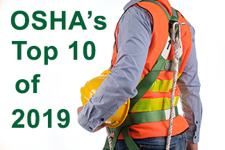 OSHA's Top 10 Violations of 2019